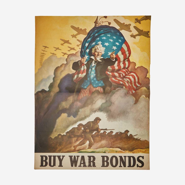 Lot 89 - [Posters] [World War II] Wyeth, N.C.