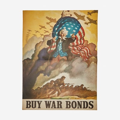 Lot 89 - [Posters] [World War II] Wyeth, N.C.