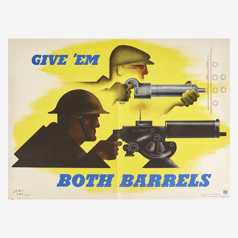Lot 58 - [Posters]  [World War II] Carlu, Jean