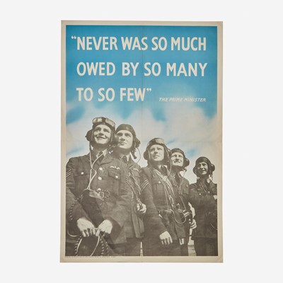 Lot 61 - [Posters] [World War II] [Churchill, Winston]