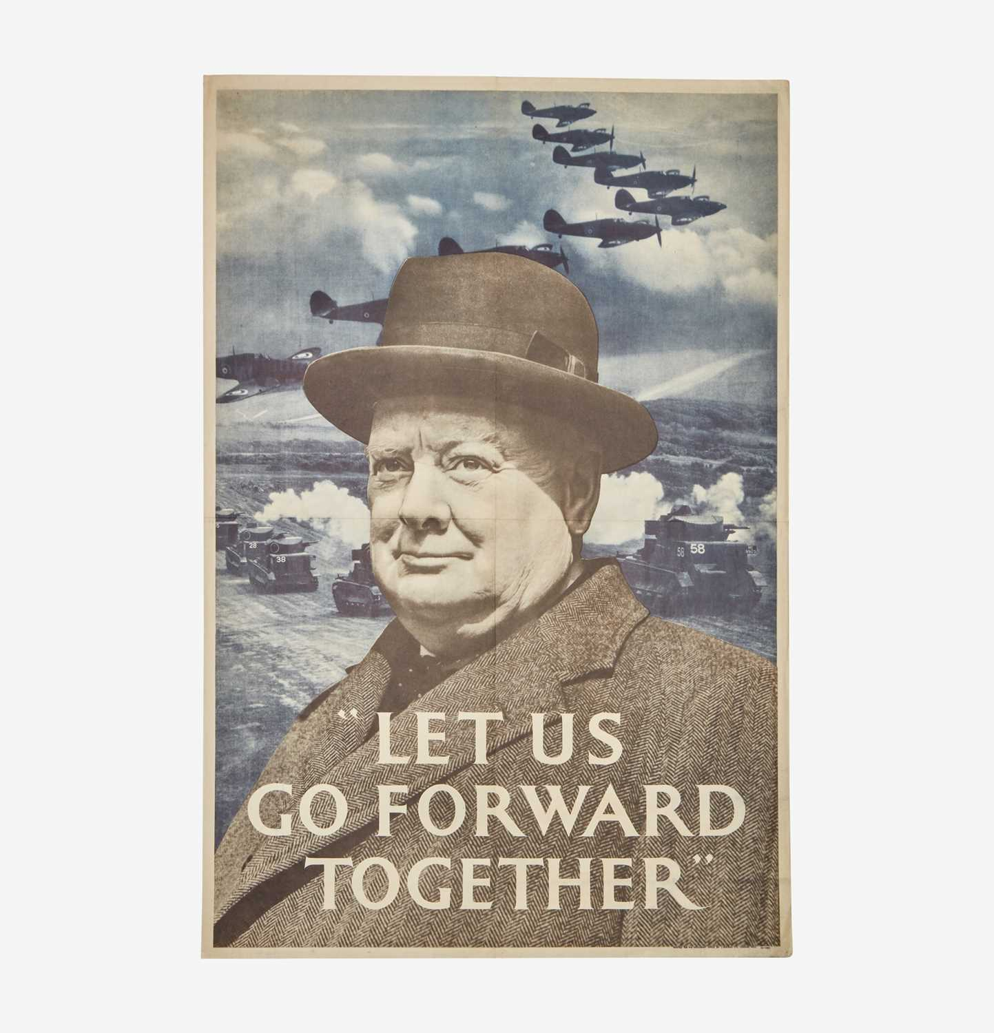 Lot 60 - [Posters] [World War II] [Churchill, Winston]