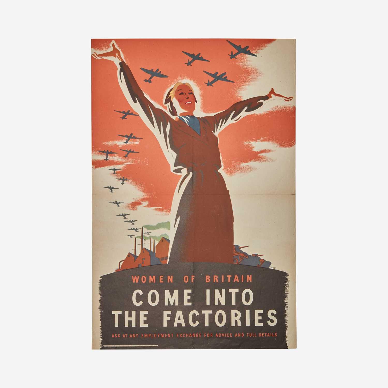 Lot 91 - [Posters] [World War II] Zec, (Philip)