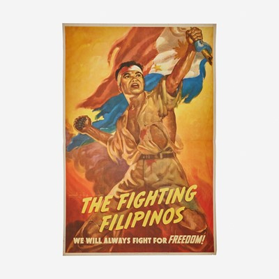 Lot 74 - [Posters] [World War II] Isip, Manuel Rey
