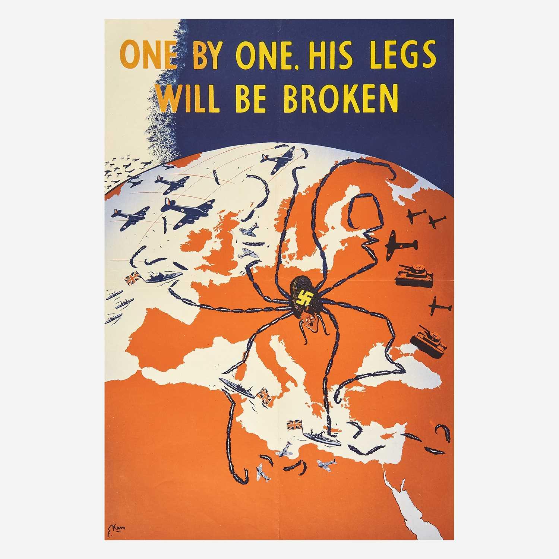 Lot 78 - [Posters] [World War II] Marengo, Kimon Evan (Kem)
