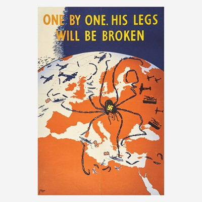 Lot 78 - [Posters] [World War II] Marengo, Kimon Evan (Kem)