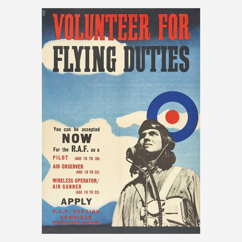 Lot 67 - [Posters] [World War II] Foss, (Jonathan)