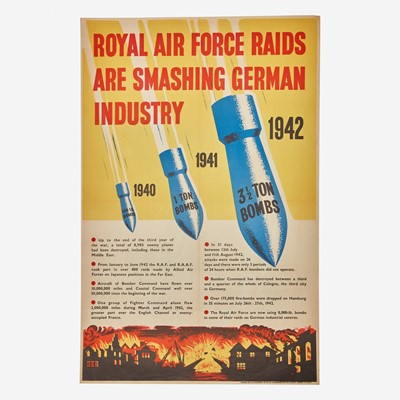 Lot 54 - [Posters] [World War II]