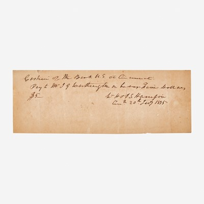 Lot 95 - [Presidential] Harrison, William Henry