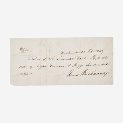 Lot 92 - [Presidential] Buchanan, James