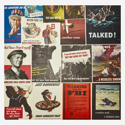 Lot 56 - [Posters] [World War II]