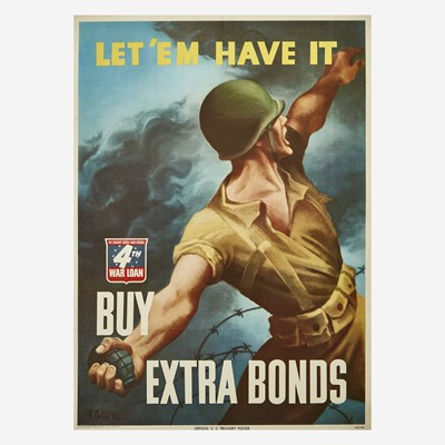 Lot 85 - [Posters] [World War II]