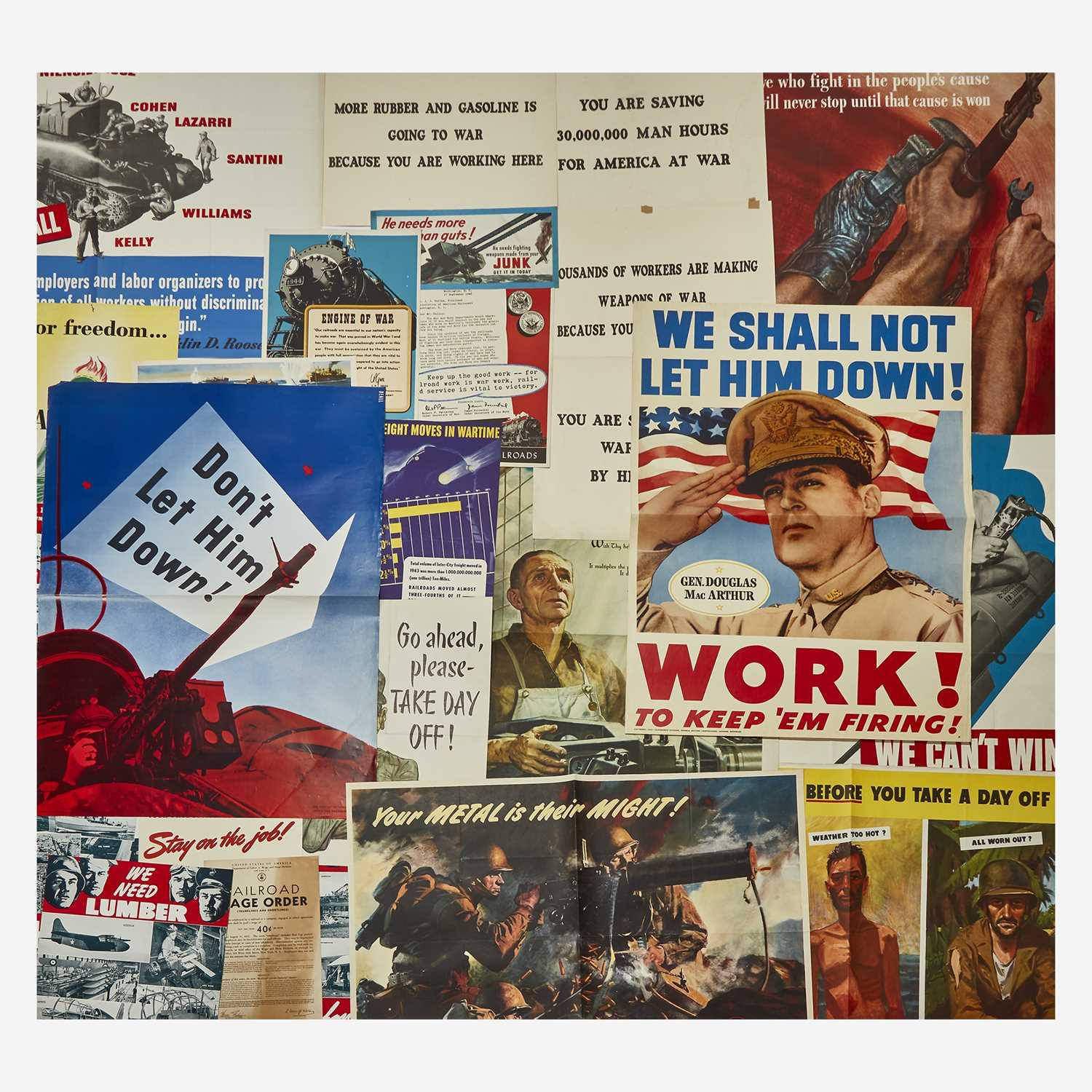 Lot 77 - [Posters] [World War II]