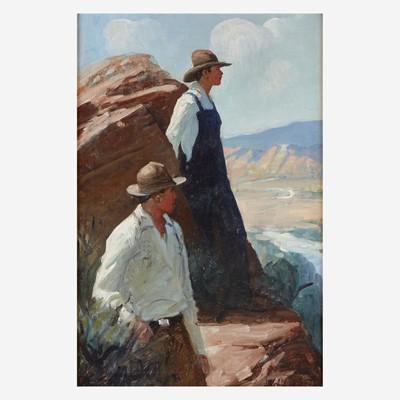 Lot 35 - Frank Tenney Johnson (American, 1874–1939)