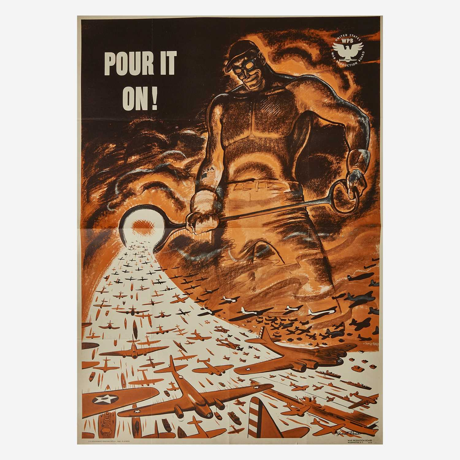 Lot 86 - [Posters] [World War II]