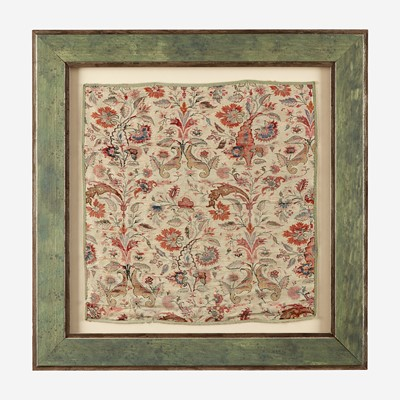 Lot 91 - Two Framed Textile Fragments