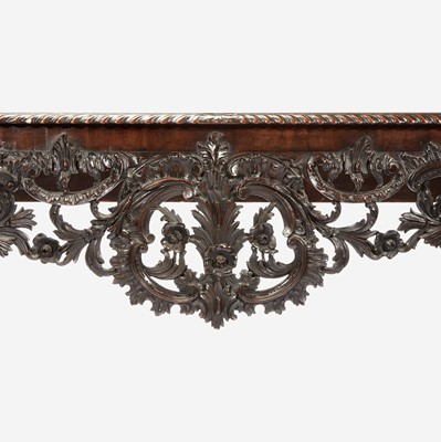 Lot 106 - A George II Carved Mahogany Console Table