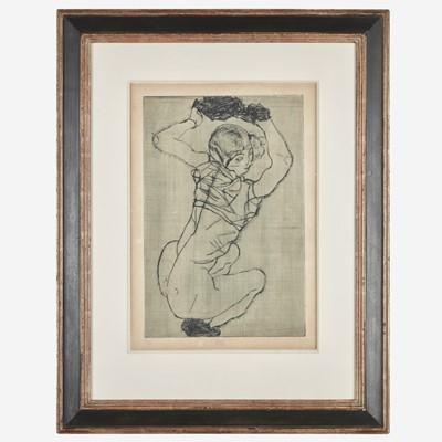 Lot 17 - Egon Schiele (Austrian, 1890-1918)