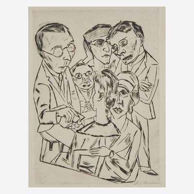 Lot 14 - Max Beckmann (German, 1884-1950)