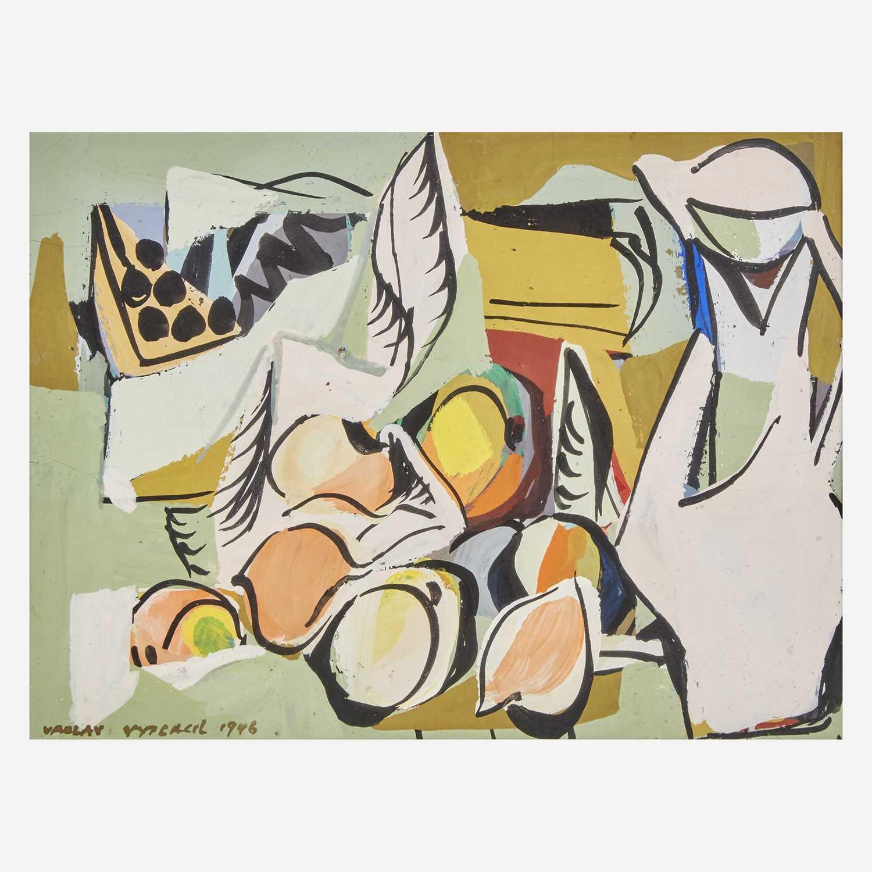 Lot 11 - Vaclav Vytlacil (American, 1892-1984)