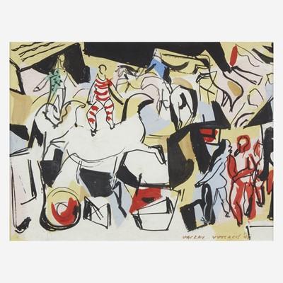 Lot 9 - Vaclav Vytlacil (American, 1892-1984)