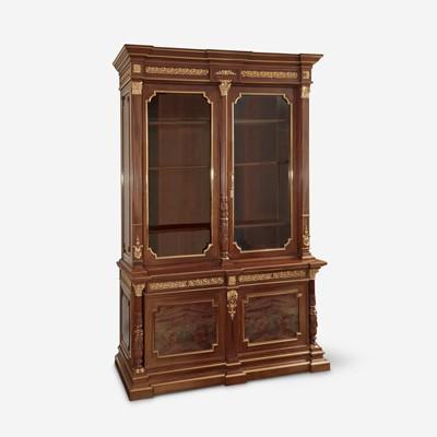 Lot 31 - A Fine Louis XVI Style Gilt Metal Mounted Oak Bookcase