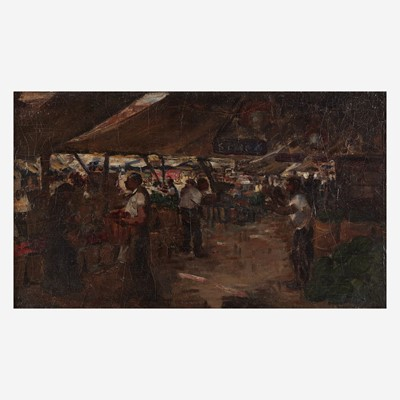 Lot 80 - Fred Wagner (American, 1861–1940)
