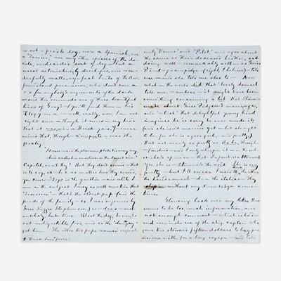 Lot 78 - [Literature] Twain, Mark (Samuel Clemens)