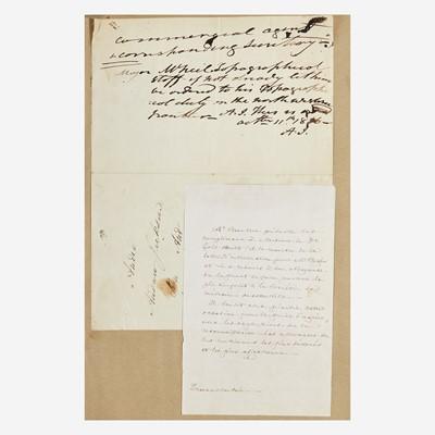 Lot 114 - [Presidential] Jackson, Andrew