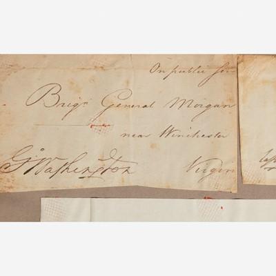 Lot 121 - [Presidential] Washington, George, and Marquis de Lafayette