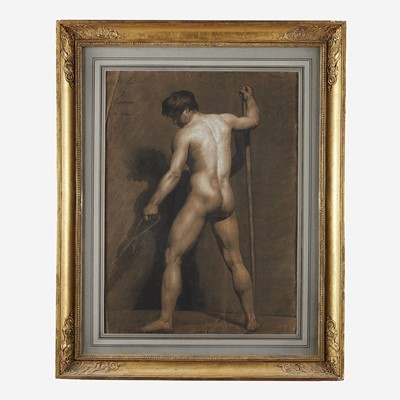 Lot 40 - Manner of Jacques-Louis David (French, 1748–1825)