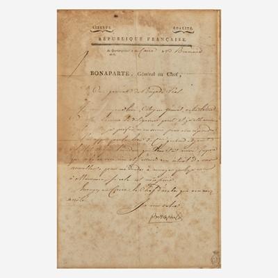 Lot 30 - [Autographs & Manuscripts] Bonaparte, Napoleon