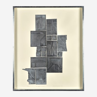 Lot 62 - Louise Nevelson (American, 1899-1988)