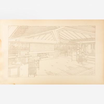 Lot 21 - [Architecture] Wright, Frank Lloyd