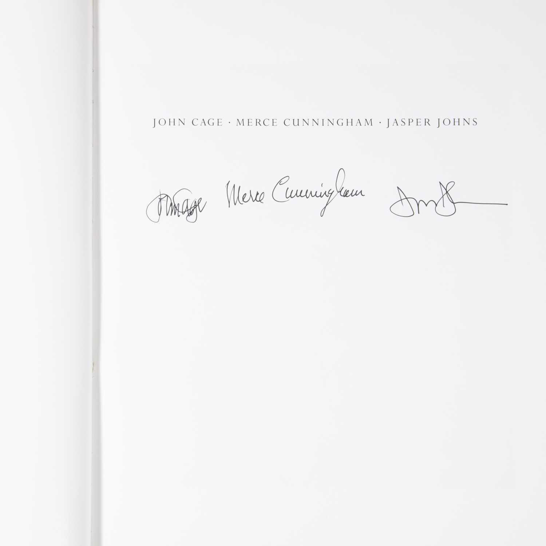 Lot 24 - [Art] [Johns, Jasper, and John Cage, and Merce Cunningham]