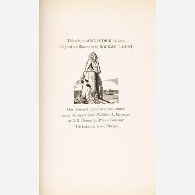 Lot 38 - [Children's & Illustrated] [Kent, Rockwell] Melville, Herman