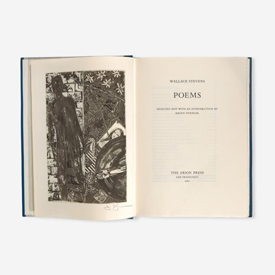 Lot 126 - [Private Press] [Arion Press, The] Stevens, Wallace, and Jasper Johns