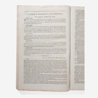 Lot 30 - [Hamilton, Alexander] [Giles Resolutions]
