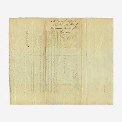 Lot 32 - [Hamilton, Alexander] [Treasury Department]