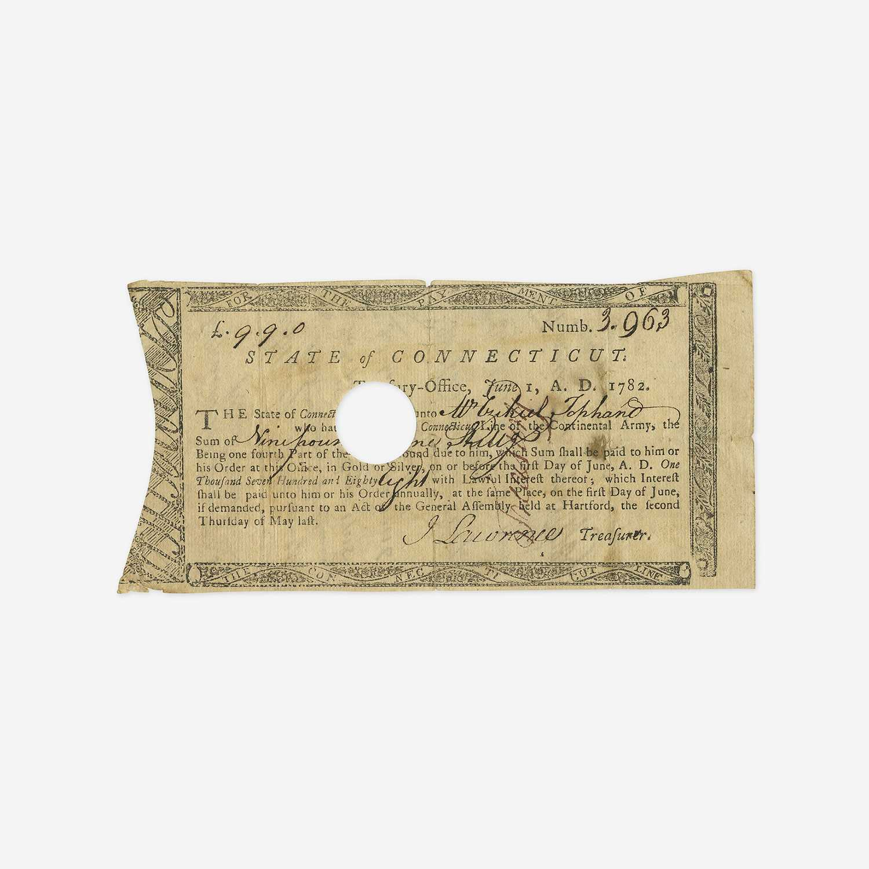 Lot 9 - [American Revolution] [Tophand, Ezekiel]