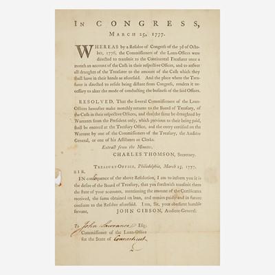Lot 3 - [American Revolution] [Dunlap, John]