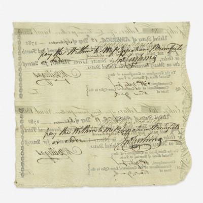 Lot 5 - [American Revolution] Hillegas, Michael