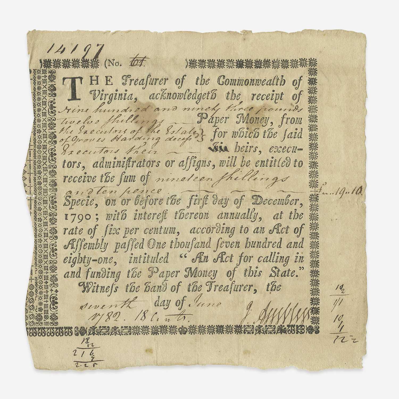 Lot 10 - [American Revolution]