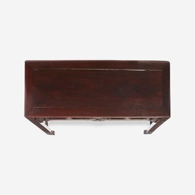 Lot 85 - A Chinese hardwood side table 硬木条案