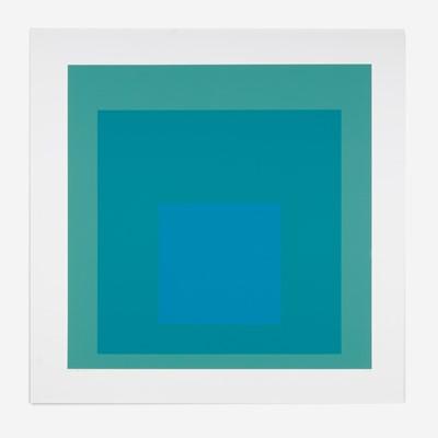 Lot 84 - Josef Albers (German, 1888-1976)
