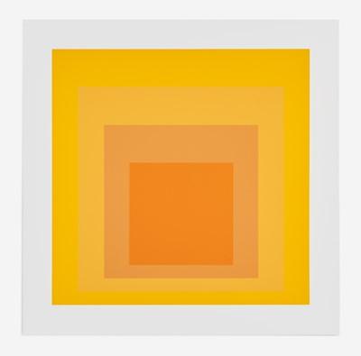 Lot 85 - Josef Albers (German, 1888-1976)