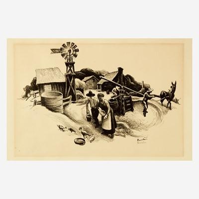 Lot 122 - [Prints] Benton, Thomas Hart