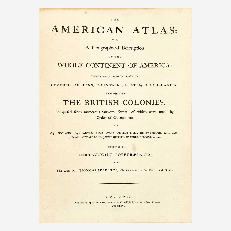 Lot 16 - [Americana] Jefferys, Thomas