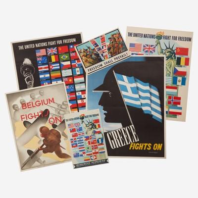 Lot 109 - [Posters] [World War II]