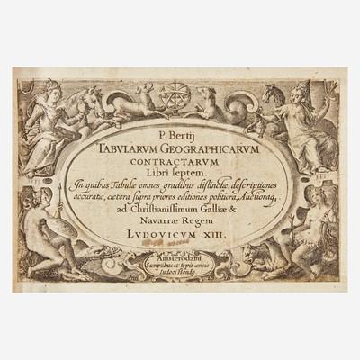 Lot 83 - [Maps & Atlases] Bertius, P(etrus).