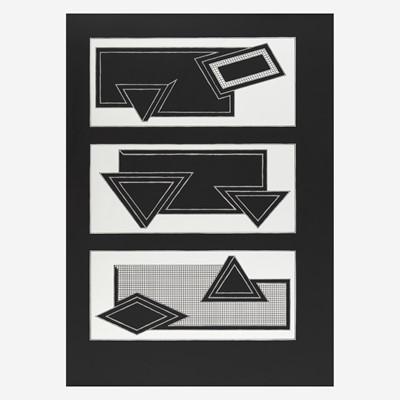 Lot 60 - Frank Stella (American, B. 1936)